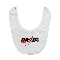 Слюнявчик  Pride Logo - FatLine