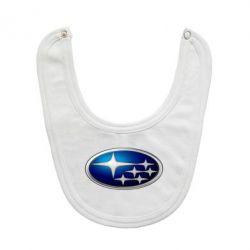 Слюнявчик  Subaru 3D Logo - FatLine