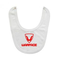 Слюнявчик  Warface Logo - FatLine