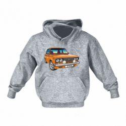 Детская толстовка A car