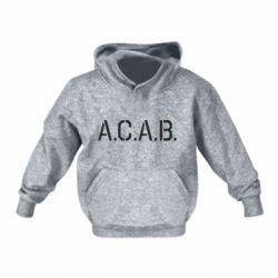 Дитяча толстовка A.C.A.B.