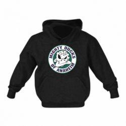 Детская толстовка Anaheim Mighty Ducks Logo