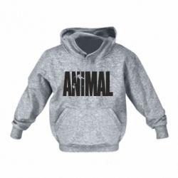 Детская толстовка Animal Logo