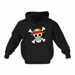 Дитяча толстовка Anime logo One Piece skull pirate