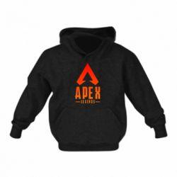 Дитяча толстовка Apex legends gradient logo