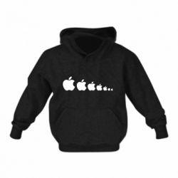Дитяча толстовка Apple Еволюції