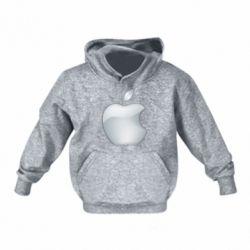 Дитяча толстовка Apple Silver