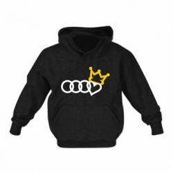 Дитяча толстовка Audi queen