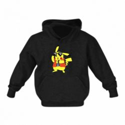 Дитяча толстовка Back to the Future Marty McFly Pikachu