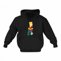 Детская толстовки Bart Simpson - FatLine