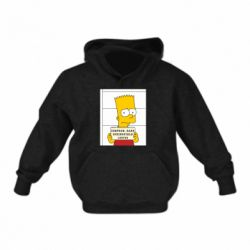 Детская толстовки Барт в тюряге - FatLine