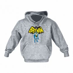 Детская толстовка Batman Hero