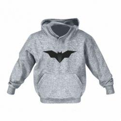 Детская толстовка Batman unusual logo