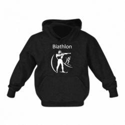 Детская толстовка Biathlon