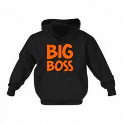 Детская толстовка Big Boss