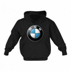 Детская толстовка BMW Logo 3D