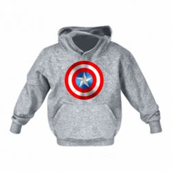 Детская толстовка Captain America 3D Shield