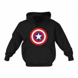 Детская толстовка Captain America