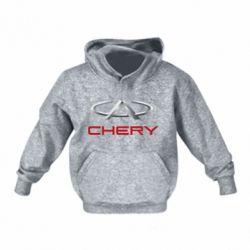 Детская толстовки Chery Logo - FatLine