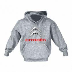 Детская толстовка Citroen лого