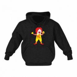 Дитяча толстовка Clown McDonald's