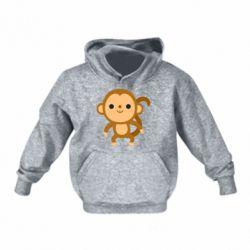 Дитяча толстовка Colored monkey