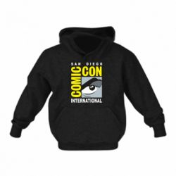 Дитяча толстовка Comic-Con International: San Diego logo