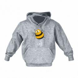 Детская толстовка Crazy Bee