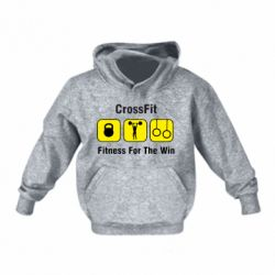 Дитяча толстовка Crossfit Fitness For The Win