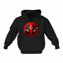 Детская толстовка Deadpool Logo