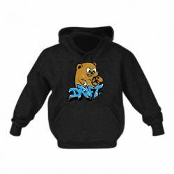 Детская толстовка Drift Bear
