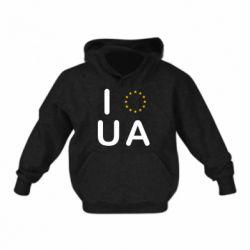 Детская толстовки Euro UA - FatLine