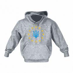 Детская толстовка на флисе ЕвроУкраїна