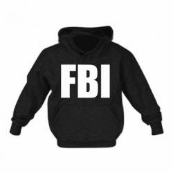 Детская толстовка FBI (ФБР)