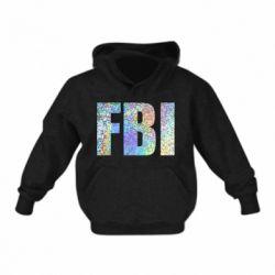 Дитяча толстовка FBI голограма