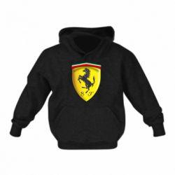 Детская толстовка Ferrari 3D Logo