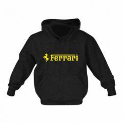 Детская толстовка на флисе Ferrari