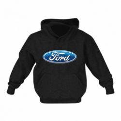 Детская толстовка Ford 3D Logo