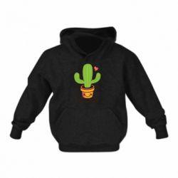 Детская толстовка Free Hugs Cactus
