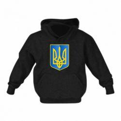 Детская толстовка Герб України 3D