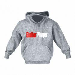 Детская толстовки Guitar Player - FatLine