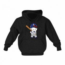 Дитяча толстовка Hello Kitty baseball