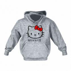 Детская толстовка на флисе Hello Kitty