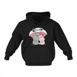 Дитяча толстовка Hippos