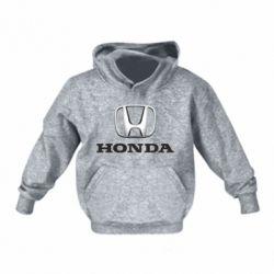 Детская толстовка Honda 3D Logo