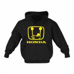 Детская толстовки Honda - FatLine