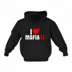 Детская толстовка I love Mafia 2