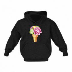 Дитяча толстовка Ice cream flowers