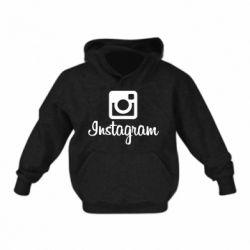 Дитяча толстовка Instagram