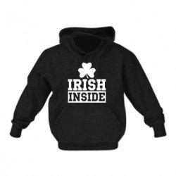 Детская толстовка Irish Inside